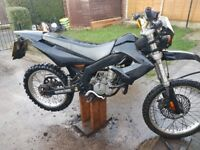 Derbi senda 50 cc with 80 big bore kit on
