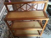 3 stand shelves wood Ex condition 60X50cm £5