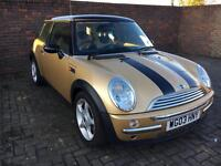 Mini Cooper 1.6 petrol manual