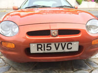 MGF 1.8i VCC excellent condtion!