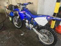 Yamaha yz 125 1997 swap road legal enduro