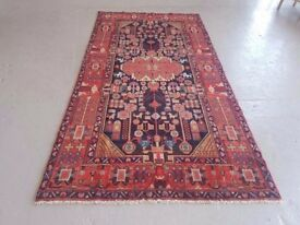 Tribal design hand woven Persian Hamadan 310x160 cm central west Persia around 1980 - 90