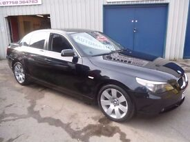 BMW 530i se auto,4 dr saloon,FSH,full leather interior,clean tidy BMW,runs and drives as new,YY04GFX