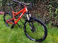 Bird Aeris mk1.5 full suspension mountain bike