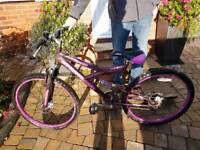 """Girls-Ladies 26"""" Bike in excellent conditon"""