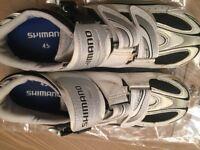 Shimano men's cycling shoes size 45