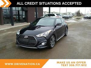 2016 Hyundai Veloster Turbo NAVIGATION, FACTORY WARRANTY, HEA...