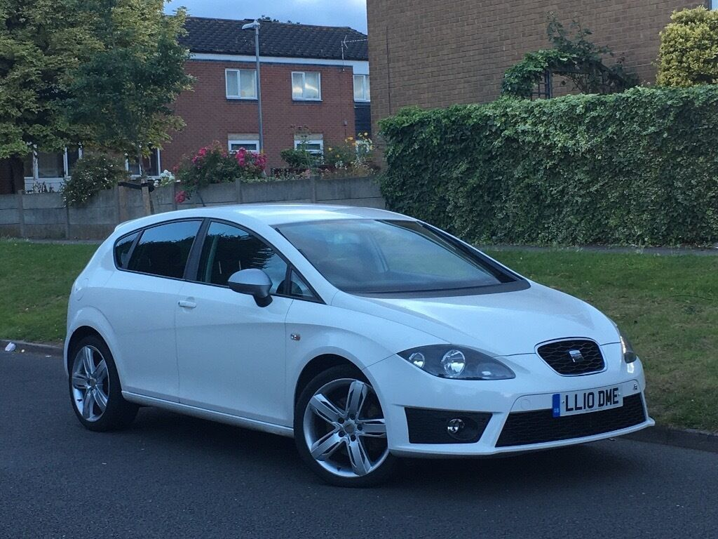 2010 seat leon fr 2 0 tdi facelift 170bhp alloys white in yardley west midlands. Black Bedroom Furniture Sets. Home Design Ideas