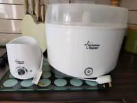 Tommee Tippee electric bottle warmer and steriliser