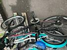 Boys black bike in perfect like new about 22-24 inches