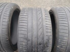 x5 x6 set of tyres 315 35 20 / 275 40 20 / bridgestone