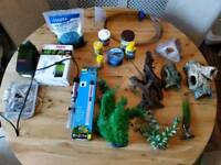 Tropical fish tank filter heater accessories