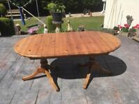 Solid pine table ducal