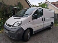 Vauxhall Vivaro 2006 Diesel 172000 miles £2200 ono