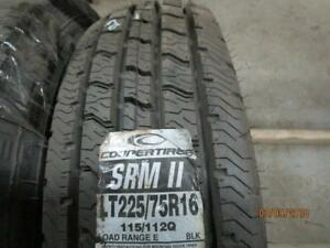 LT225/75R16 1 ONLY NEW COOPER A/S TIRE