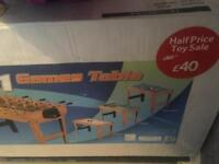 Need gone, 4 in 1 children's play table