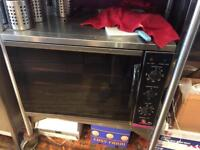 Convection oven, catering