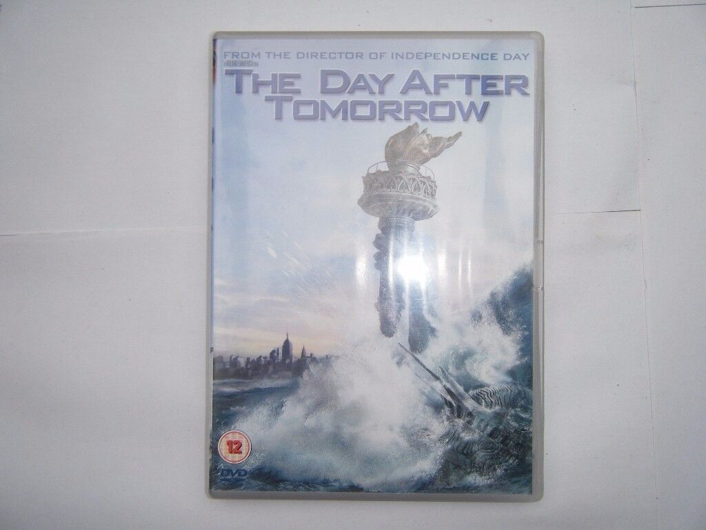 The Day After Tomorrow. DVD. Used in Very Good Condition