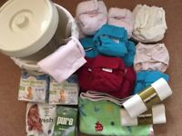 Lollipop Reusable Nappy bundle and accessories