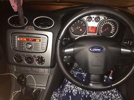 Silver Ford Focus 58 plate