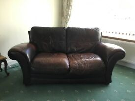 Sofa Italian leather suite.