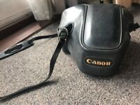 Vintage Canon T70 SLR with 55mm Canon Standard Lens Analogue Film Camera