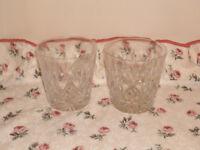 Royal Doulton Julia glass set.