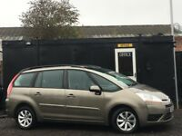 ★ CITROEN C4 GRAND PICASSO HDI VTR+ EGS + 7 SEATER + LOW 59K + FULL MAIN DEALER STAMPS ★