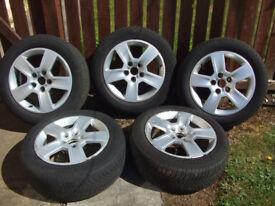 Audi A4 Alloy Wheels x 5 (205/55/R16)