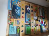 Tidy books childrens bookcase alphabet