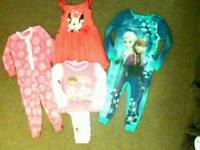 Girls sleepwear bundle