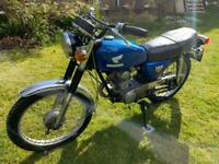 1974 Honda cb125s classic 125 rebuilt engine loads of spares Tax Mot exempt twin shock cb cb125
