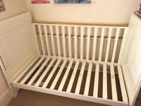 Tutti Bambini cot bed from birth to 6 years old