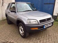 Toyota Rav 4 3 Door 4x4 Perfect Working Car Full service history