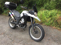 2012 Derbi Terra TS 125cc with only 9080 miles mot'd until 22 Aug 2018 in Holywood Call 07962 079143