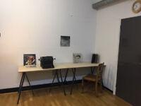 Warm & Clean - Work / Art Studio To Share:: Hackney/ London Fields