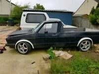 Vw mk1 caddy gt tdi 6 speed conversion project runner