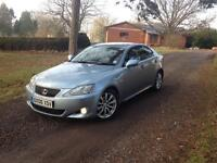 Lexus IS 250 2.5 V6 Se- 6 speed 63517 miles genuine FSH