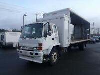 1991 GMC 7000 Cab Over 26 Foot Cube Van Diesel with Power Tailga