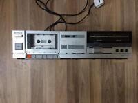 Hitachi tape deck D-E1