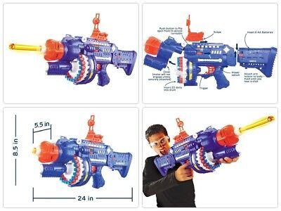 Best Nerf Gun For Boys Sniper Scope Pistol Shotgun Vortex Blaster Machine Red (Nerf Guns Best Sniper)