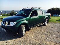 Nissan Navara Outlaw - Green Double Cab Pickup Truck - 108k £6000