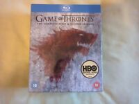 Game of Thrones Seasons 1 & 2 Boxset Blu Ray NEW