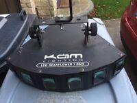 Kam LED Hexaflower 1 DMX Disco DJ light for sale