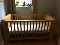 Kiddsmill Kubus Cotbed in natural oak