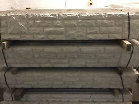 Concrete base panels, base panels