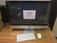 "Apple iMac Mid-2011 27"" 2.7GHz i5 Quad Core 1TB HDD 4GB RAM HD6770M"