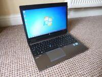 HP Probook 6570b Laptop, Core i5 Processor.