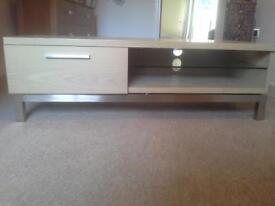 light oak tv unit very modern