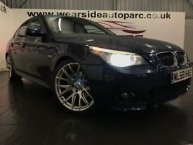 BMW 5 SERIES 3.0 525d M Sport 4dr Auto (blue) 2008